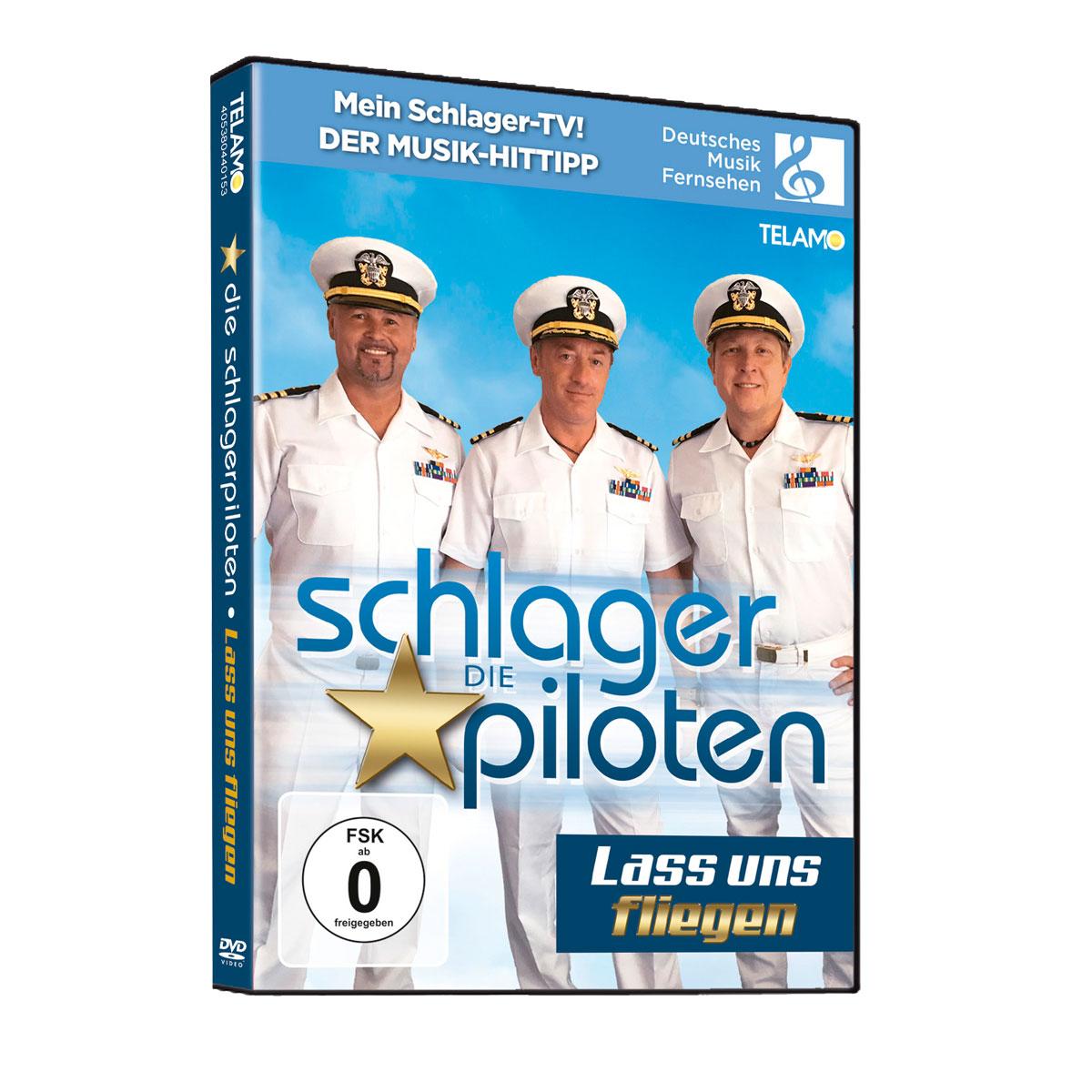 Die Schlagerpiloten - Lass uns fliegen DVD Cover