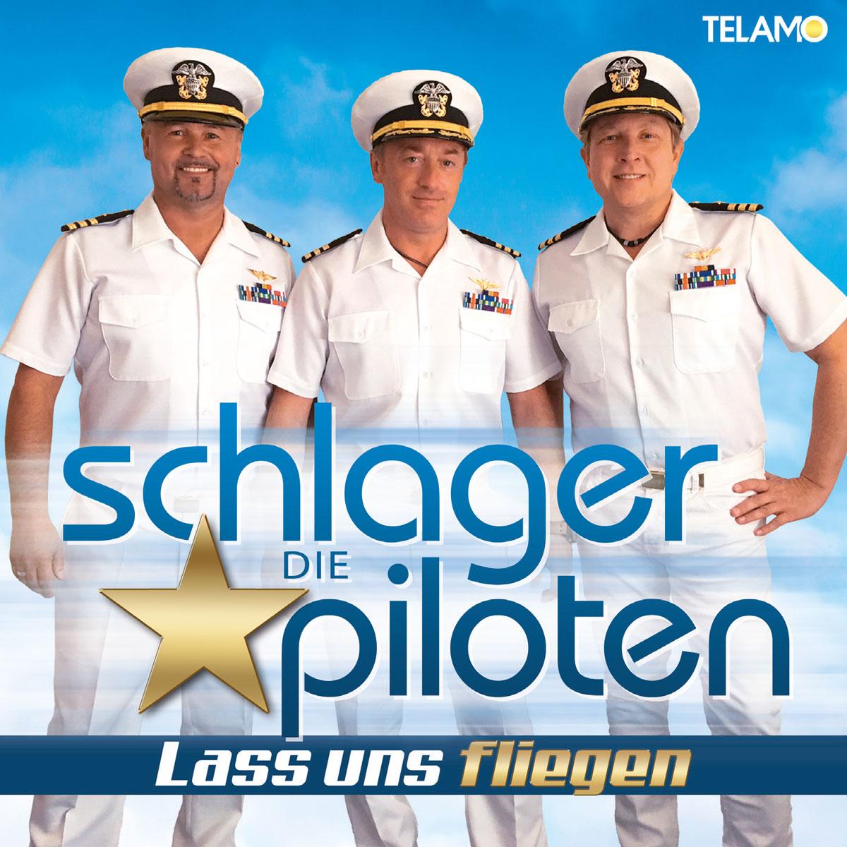 Die Schlagerpiloten - Lass uns fliegen Album Cover